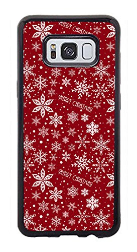 VUTTOO Case for Samsung Galaxy S8(NOT S8 PLUS) - Christmas Pattern Holiday Case - Shock Absorption Protection Phone Cover Case