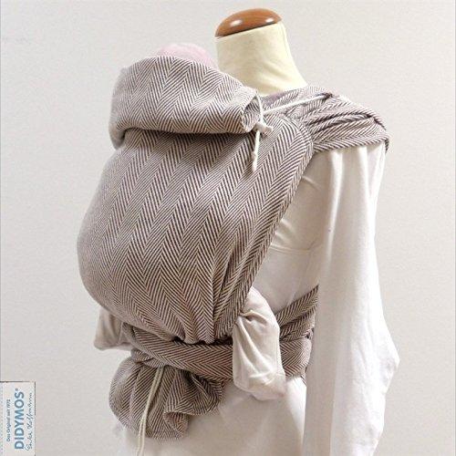 DIDYMOS Meh-Dai/Mei Tai (DidyTai) Baby Carrier Lisca Pastell (Organic Cotton), One Size ()