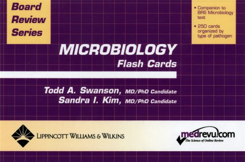 BRS Microbiology Flash Cards (Board Review Series)