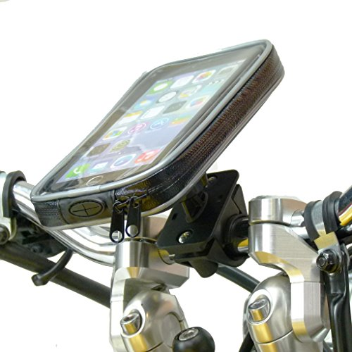 Weather Resistant Motorcycle Handlebar Mount for iPhone 6 PLUS (sku (Weather Resistant Phone)