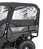 Honda 16-17 PIONEER1K-5 Genuine Accessories Fabric Rear Doors (Black)