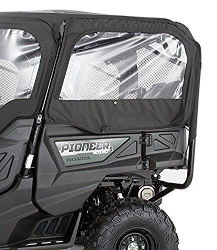 (16-17 HONDA PIONEER1K-5: Honda Genuine Accessories Fabric Rear Doors (Black))
