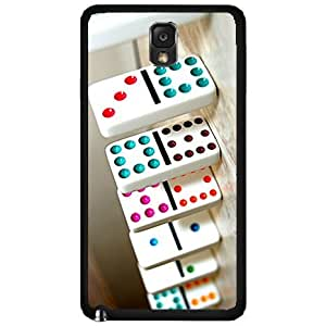 Game of Dominos - Phone Case Back Cover (Galaxy Note 3 - Plastic)