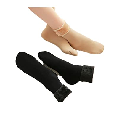 ea83ab056 Mr.Macy Hot Sale 10 pairs Wool Cashmere Women Thicken Thermal Soft Casual  Solid Winter Socks (one size