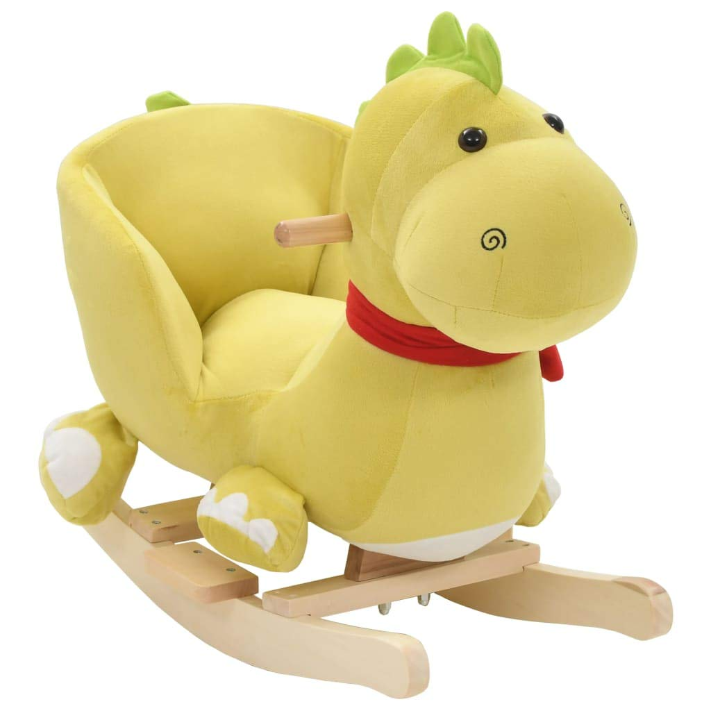 Schaukelspielzeug vidaXL Schaukeltier Pferd Plüsch Schaukelpferd Schaukelspielzeug Kinder Baby