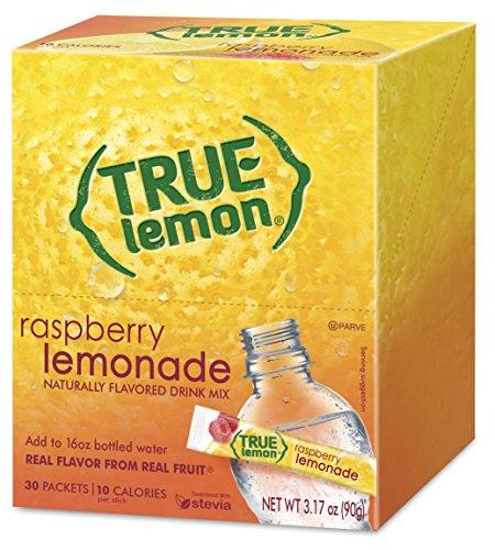 - True Lemon Raspberry Lemonade 30-count