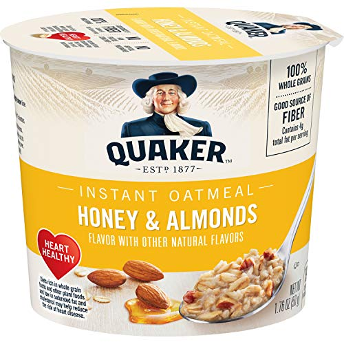 al Instant Oats Express, Honey Almond, 1.76 Ounce Cup ()
