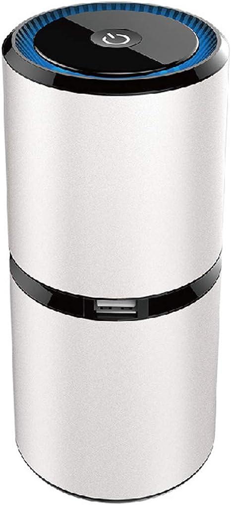 RUIXFWA Portátil Purificador de Aire - Filtro de Aire Ionizador Compacto Generador de Iones Negativos, sin Necesidad de Filtro, para Auto hogar Oficina Eliminar el Humo, 4: Amazon.es: Deportes y aire libre