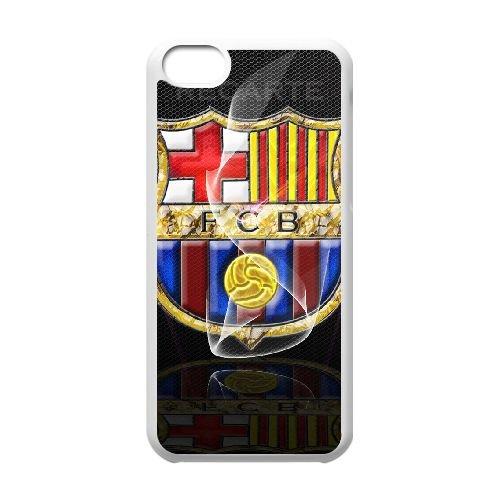 Fcb 009 coque iPhone 5C Housse Blanc téléphone portable couverture de cas coque EOKXLLNCD11837