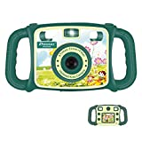 """Prograce Kids Camera Creative Camera 1080P HD Video Recorder Digital Action Camera Camcorder for Boys Girls Gifts 2.0"""" LCD Screen with 4X Digital Zoom and Funny Game(Green)"""