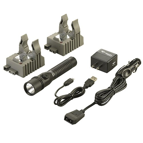 Streamlight 74412 Strion DS-IEC Type A (120V/100V) AC/12V DC 2 Holders Flash Light (Streamlight 72)