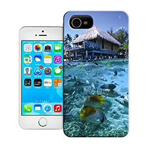 Buythecases famous scenery Tahiti for durable iphone 4 phone cases