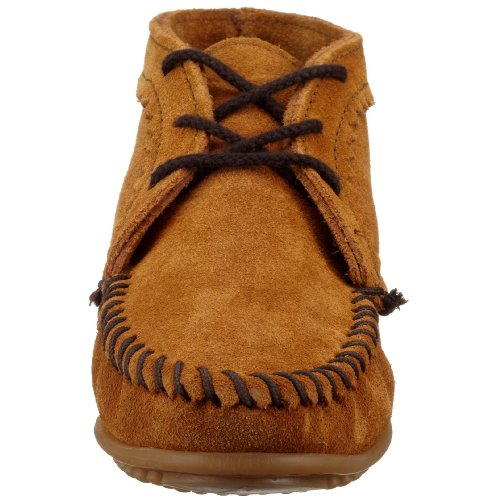 Boot Women's Minnetonka Suede Ankle Brown dSqqntfr