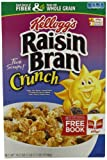 Raisin Bran Crunch Cereal, 18.2 -Ounce Boxes (Pack of 3) image