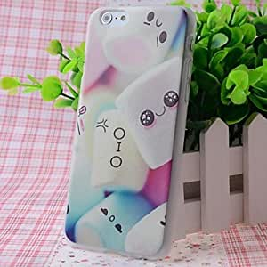Zaki Cotton Candy Pattern Good Feeling Effect of Embossment Back Case for iPhone 6