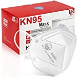 KN95 Face Mask 50Pcs, 5 Layer Design Cup Dust