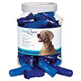 ClearQuest Dog and Cat Finger Brush Canisters, 50/Pack, My Pet Supplies