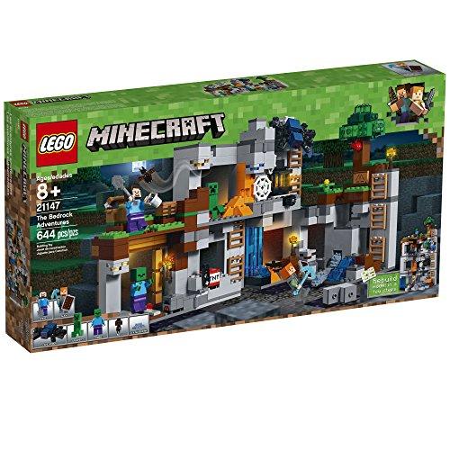 51185lzCqmL - LEGO Minecraft The Bedrock Adventures 21147 Building Kit (644 Piece)