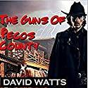 The Guns of Pecos County: Hell or High Water Western Series, Book 1 Audiobook by David Watts Narrated by Steve Stansell