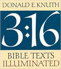 3:16 Bible Texts Illuminated