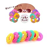 GOODBUYER Donuts Fast Hair Curler Hair Curly Magic Spiral Ringlets Former Leverage Circle (S - 8pcs) by GOODBUYER