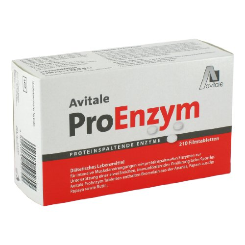 Avitale ProEnzym magensaftresistente Tabletten, 210 Stück,  1er Pack (1 x 124 g)