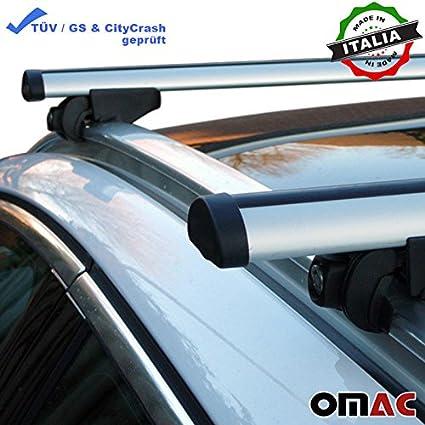 Dachträger Gepäckträger Relingträger für Chevrolet Trax ab 2012 Alu Grau TÜV ABE