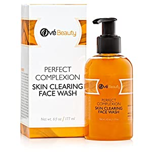 The Best Acne Skin Clearing Face Wash with Tea Tree for Sensitive, Oily & Combination Skin. Natural Cleanser to Treat Facial Blemishes, Pimples and Blackheads. Non Drying, Non Oily.
