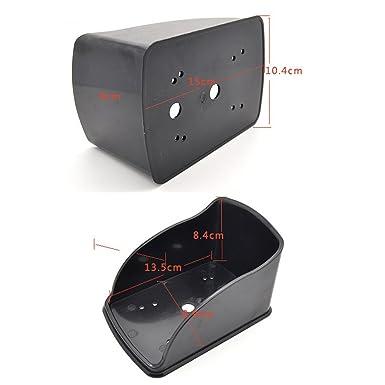 NN99 Sistema de control de acceso Teclado RFID Lector de tarjetas EM de 125 KHz + Cubierta impermeable a prueba de lluvia + 10pcs Llaves RFID Llaves ...