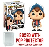 Funko Pop! Animation: Gravity Falls - Dipper Pines Vinyl Figure (Bundled with Pop BOX PROTECTOR CASE)