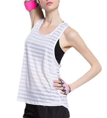 BingSai - Camiseta de Tirantes para Mujer, de algodón ...