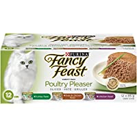 Purina Fancy Feast Poultry Pleaser Wet Cat Food Variety Pack - 85 g (12 Pack)