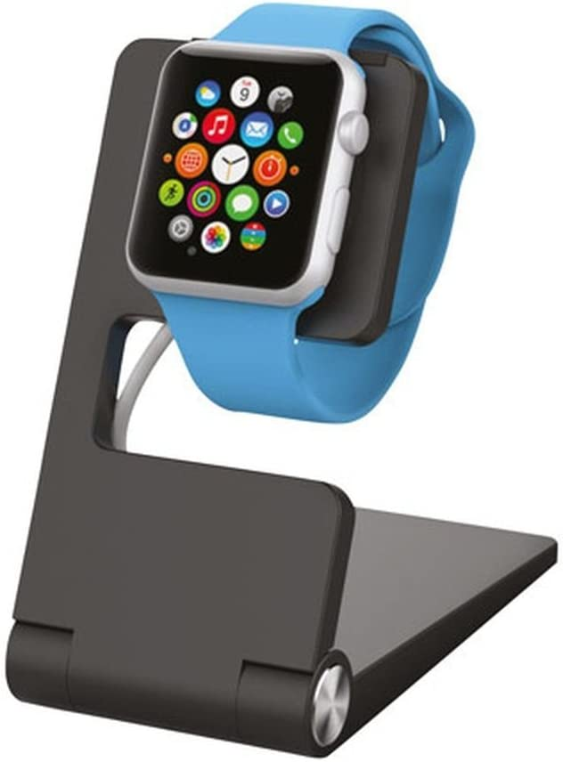 Kanex Foldable Charging Stand for Apple Watch, Black (K118-1289)
