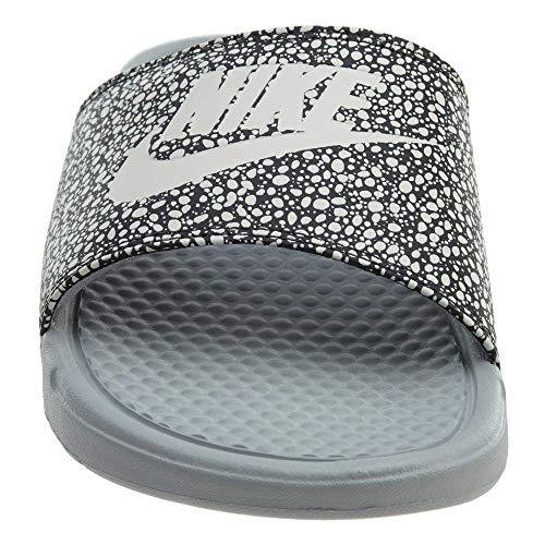 Gymnastique Pour White Nike Jdi Print Grey Chaussures Benassi Hommes Summit Wolf anthracite De EnwnYqP