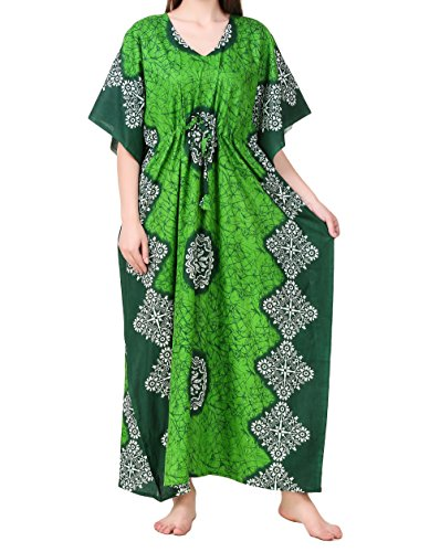 53b0dc26ab Masha Women's Cotton Kaftan Nighty - Buy Online in Oman. | Apparel Products  in Oman - See Prices, Reviews and Free Delivery in Muscat, Seeb, Salalah,  ...