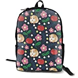JCFQ Guinea Pigs Apples Laptop Backpack