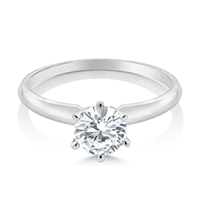 Dubai Collections Engagement Rings For Women Teens Wedding Band Proposal Solitare Solid 925 Sterling Silver Stamp Moissanite Eternity Promise