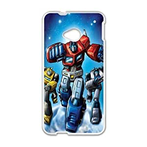 HTC One M7 phone cases White Transformers fashion cell phone cases TRUG1032454