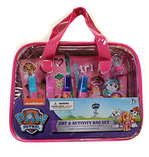 Paws Art (Paw Patrol Art & Activity Bag Set)