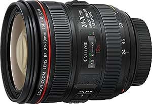 Canon 24-70 mm f/4 L IS USM EF - Objetivo para Canon (distancia focal 24-70 mm, apertura f/4-22, estabilizador, diámetro: 77mm), negro