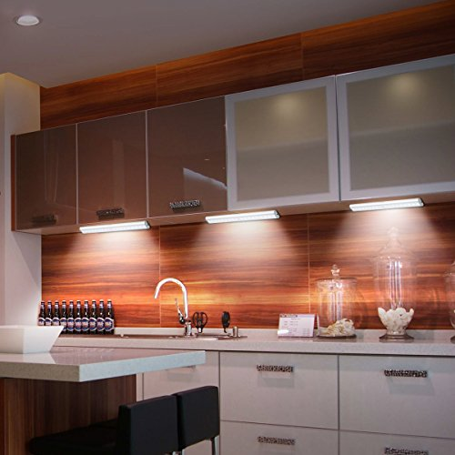 Kitchen Closet Under Cabinet Stick On 36 Led Motion Sensor: Motion Sensor Light Under Cabinet Lights, Wireless Motion