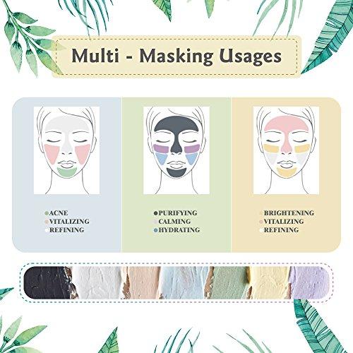 Benatu Yellow Clay Mask - 100% Natural & Organic Mud + Silicone Brush