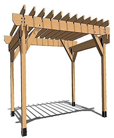 OZCO Building Products Project #301 - Kit de pérgola de 16 x 12 cm ...