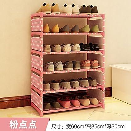 ASIBG Home Conjunto de zapata zapata simple que contiene polvo de acero multi hogar moderno zapato rack,q