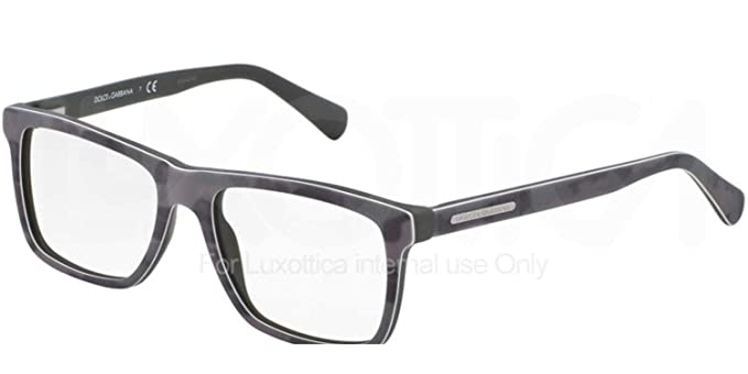 903f3cc73f76 Dolce   Gabbana DG3192 Eyeglasses-2804 Top Mimetic Military Green-53mm