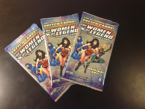 Cryptozoic DC Comics The Women of Legend Factory Sealed Trading Cards Single (Pack Of Cards Costume)