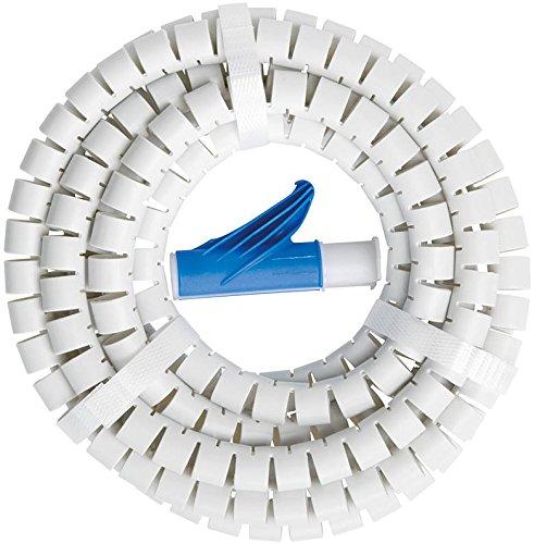Brennenstuhl 1081590601/Kit Cache c/âble Blanc 3/m