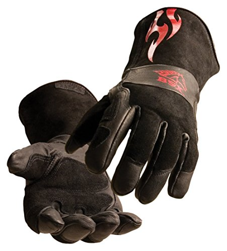 Revco BS50 SZ XL BSX Premium Split Cowhide Stick/Mig Welding Gloves, X-Large (1 Pair)