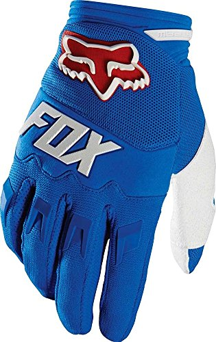 2016 Fox Racing Dirtpaw Race Gloves (M, Blue)