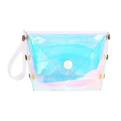 e61b75b43c22 Amazon.com: Jocestyle Wallet for Women Transpatent Waterproof Purse ...